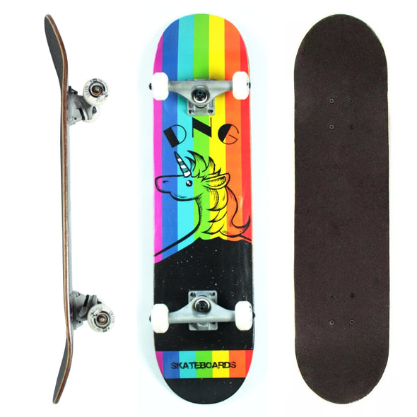 DNG Skateboards Completo Profissional Rainbow in the Stars Preto