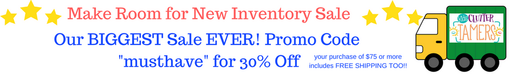 Making Room for New Inventory - Huge Sale!