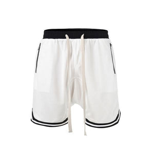 Essential Mesh Shorts - White