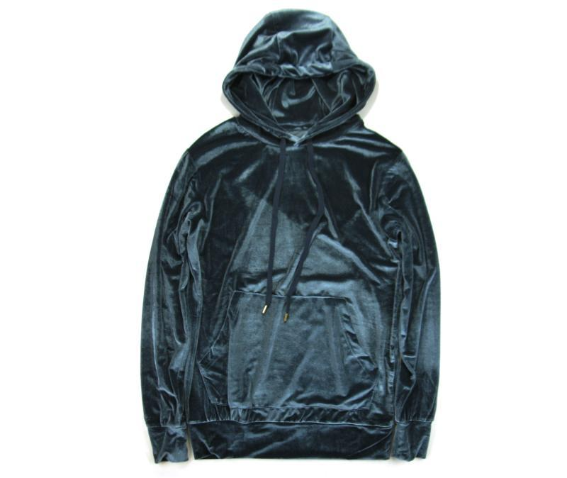 Luxe Velour Hoodie