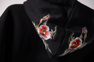 Limited Edition Floral Tiger Hoodie