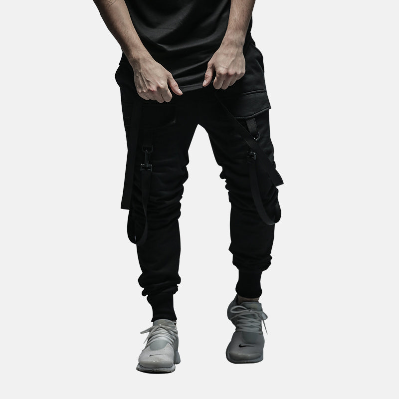 Joggers with Belt Detail