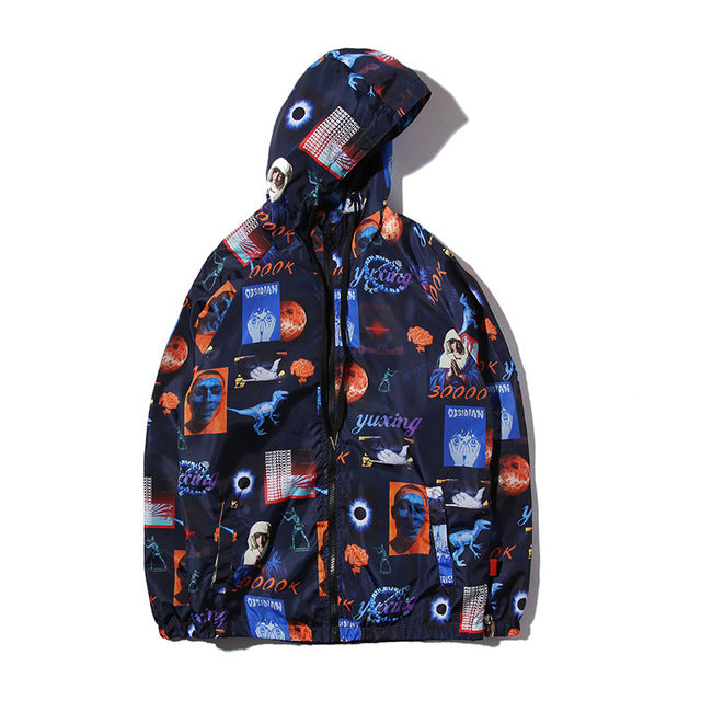 FFUK Graffiti Windbreaker