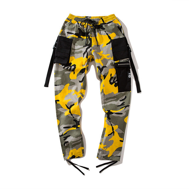 Side pocket Camouflage Pants