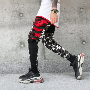 Patchwork Camo Pants