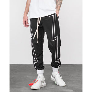 Reflective Stripe Sweatpants