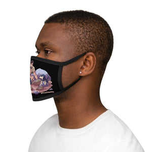 Fossil Daddy & Zavier Mixed-Fabric Face Mask