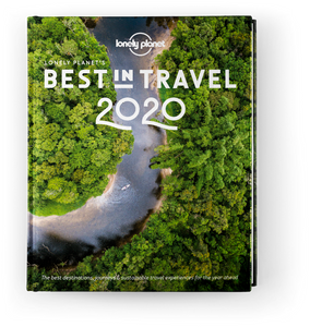 Lonely Planet's Best in Travel 2020 POS