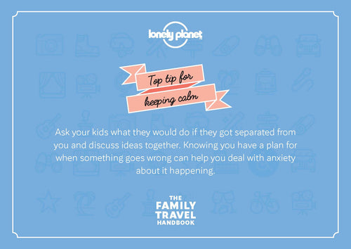 The Family Travel Handbook postcards