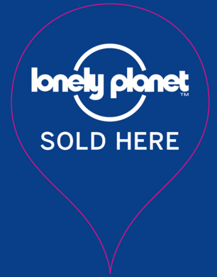 Lonely Planet Sold Here sticker