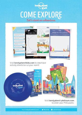 Lonely Planet Kids activity sheets