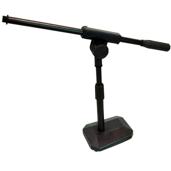PRG Diamond Base Desk Microphone Stand with Boom