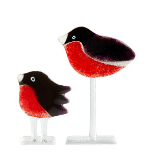 Robin glass bird, unique design perfect for present
