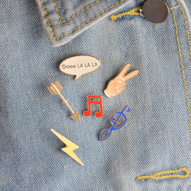Music Enamel Pin Set