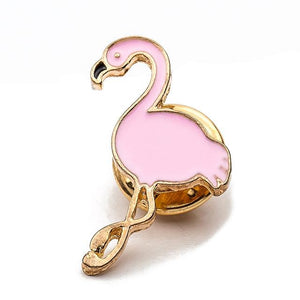 Flamingo Enamel Pin