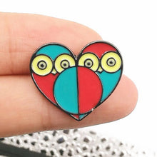 Lovely Owl Enamel Pin