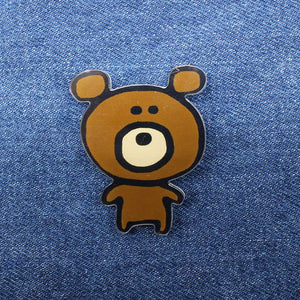 Cute Bear Enamel Pin