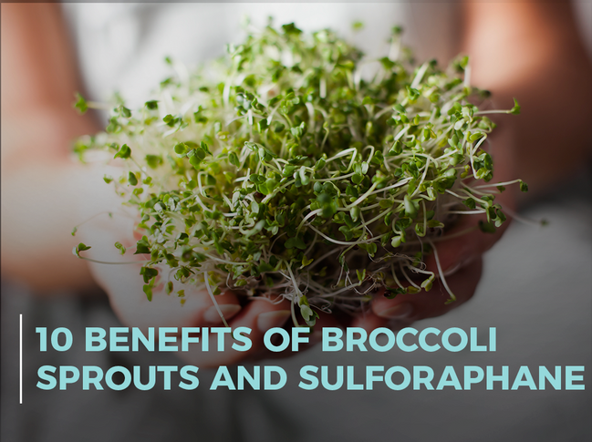 10 Benefits of Broccoli Sprouts and Sulforaphane