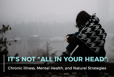 Anxiety, depression, and other mental health conditions are complex disorders with many contributing factors.
