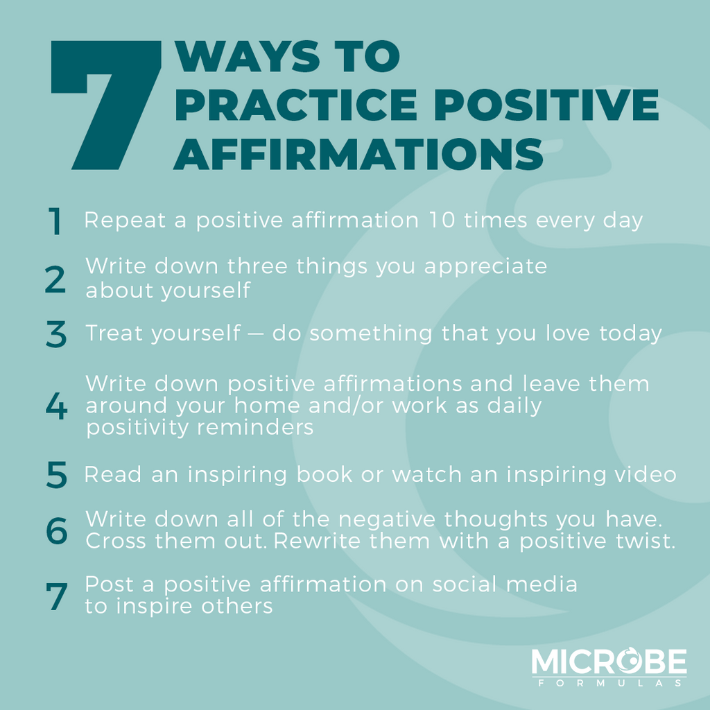 7 ways to practice positive affirmations in your daily life