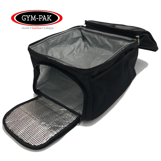 3x 3 compartment 32oz Meal-Management-System FoodBag UK Iso Fitness Cooler Prep Bag IcePacks