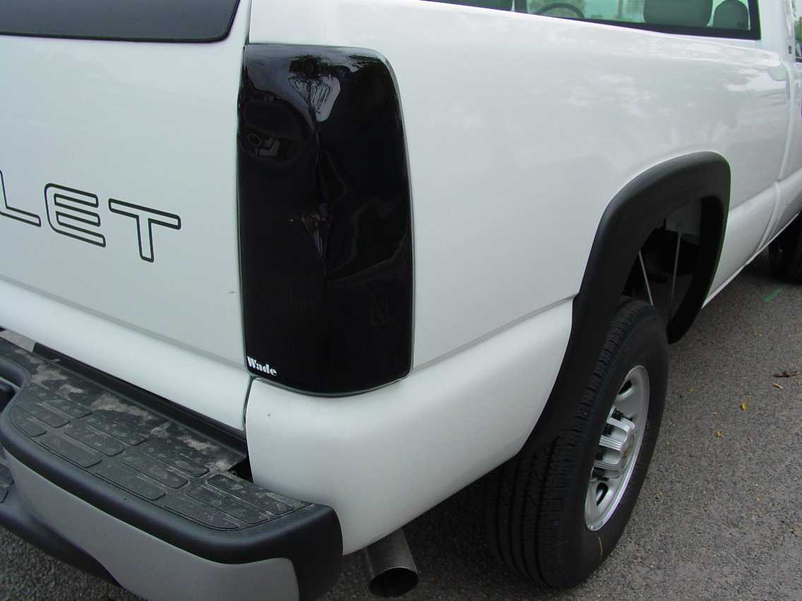 1984 GMC Pickup S-15 Tail Light Covers