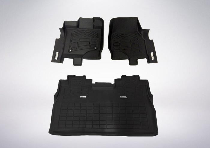 2017 Ford F-150 Floor Mats | Combo Pack