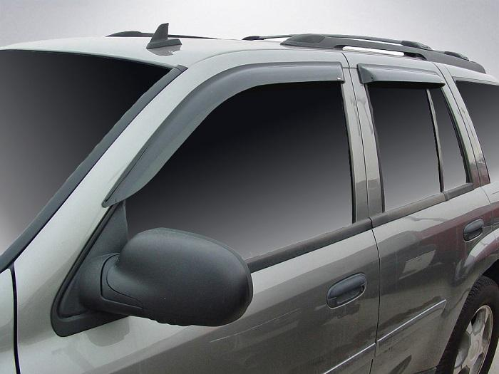 2009 Chevrolet Trailblazer Slim Wind Deflectors