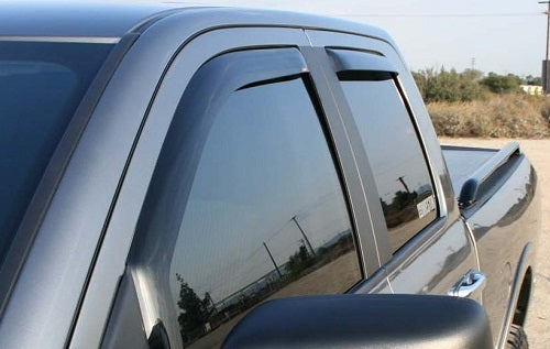 2003 Hummer H2 In-Channel Wind Deflectors