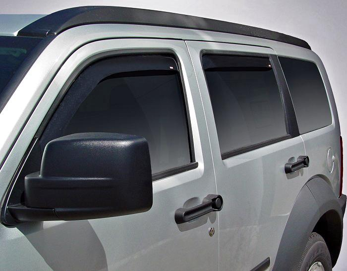 2009 Dodge Nitro In-Channel Wind Deflectors