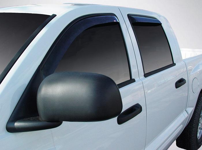 2009 Dodge Dakota In-Channel Wind Deflectors