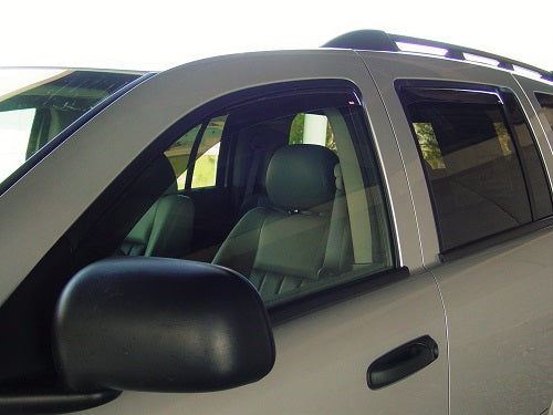 2007 Chrysler Aspen In-Channel Wind Deflectors
