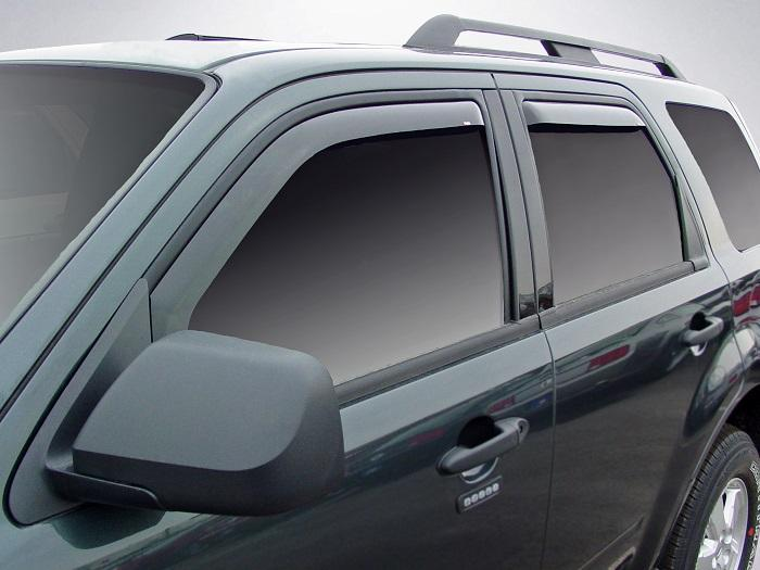 2002 Ford Excursion In-Channel Wind Deflectors