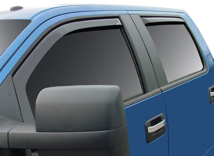 2007 Ford F-150 In-Channel Wind Deflectors