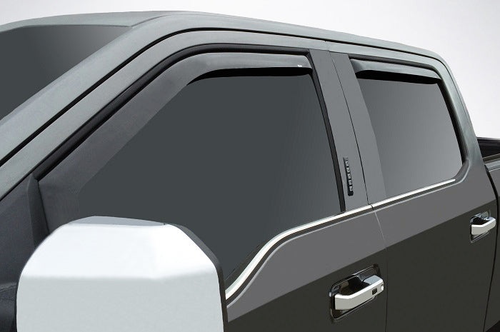 2017 Ford Super Duty In-Channel Wind Deflectors