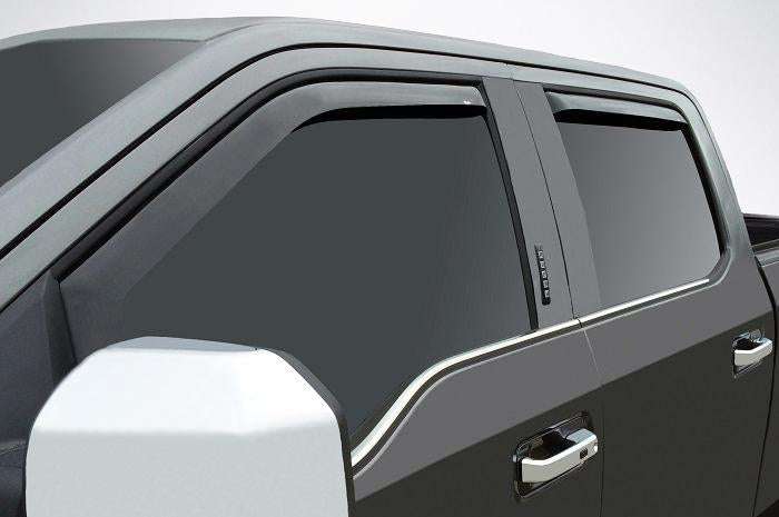 2019 Ford Super Duty In-Channel Wind Deflectors