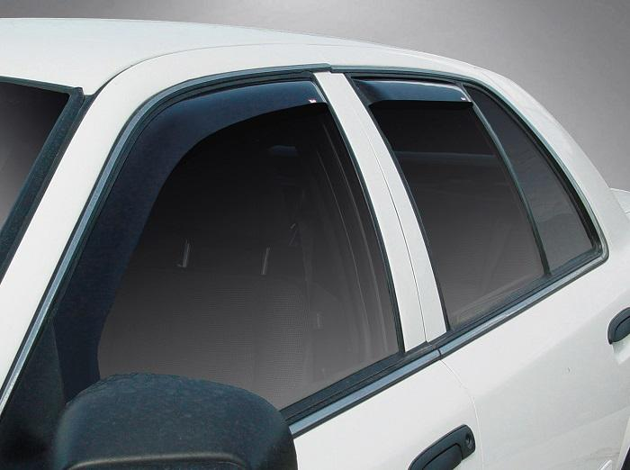 2007 Ford Crown Victoria In-Channel Wind Deflectors