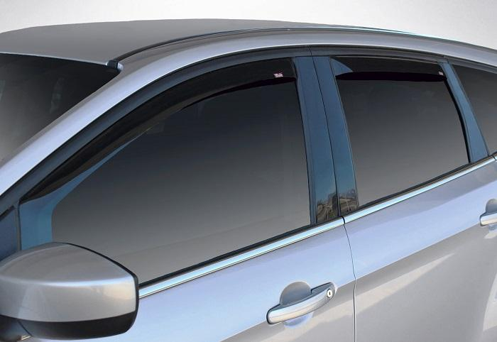 2008 Ford Explorer In-Channel Wind Deflectors