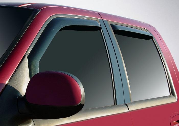 2002 Ford F-150 In-Channel Wind Deflectors