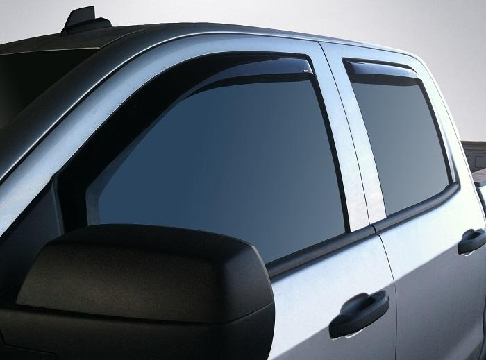2014 GMC Sierra In-Channel Wind Deflectors