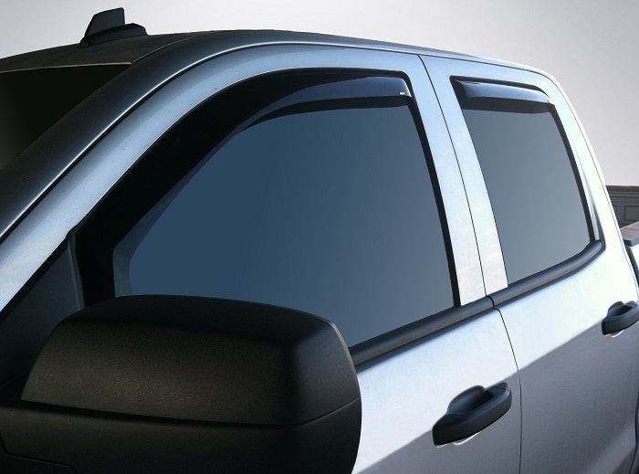 2018 Chevrolet Silverado In-Channel Wind Deflectors