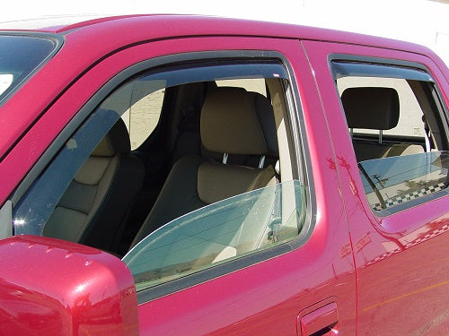 2007 Honda Ridgeline In-Channel Wind Deflectors