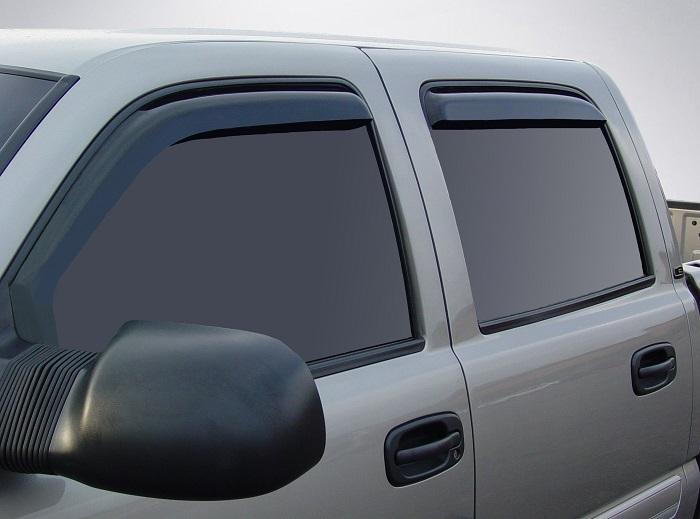 2002 Chevrolet Avalanche In-Channel Wind Deflectors