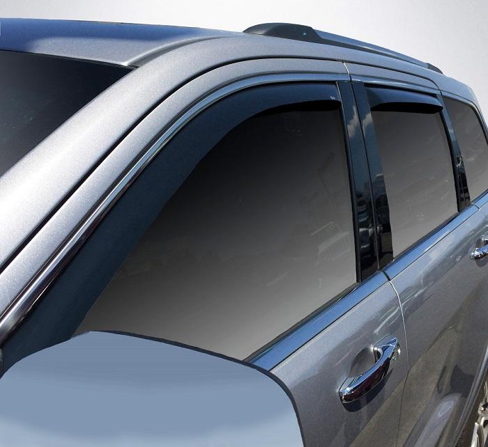 2018 Jeep Grand Cherokee In-Channel Wind Deflectors
