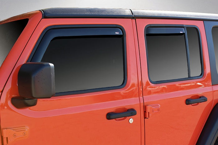 2018 Jeep Wrangler In-Channel Wind Deflectors