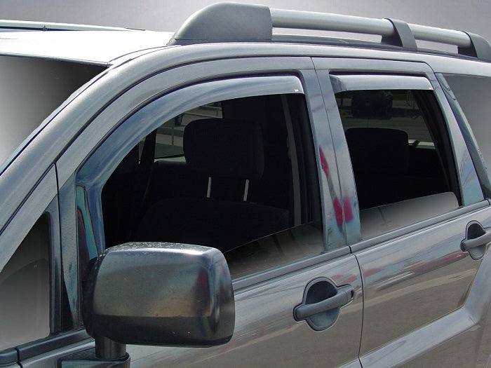 2010 Mitsubishi Endeavor In-Channel Wind Deflectors