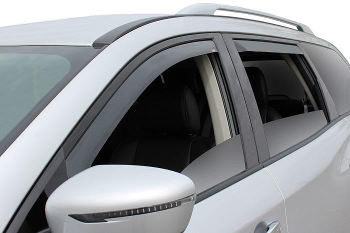 2013 Nissan Pathfinder In-Channel Wind Deflectors