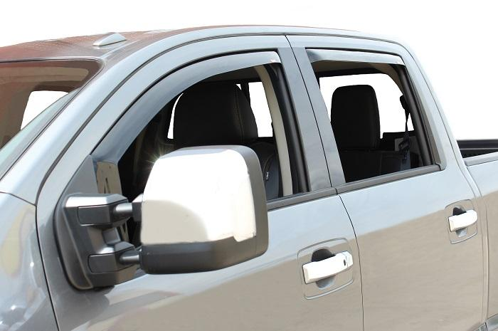 2018 Nissan Titan In-Channel Wind Deflectors