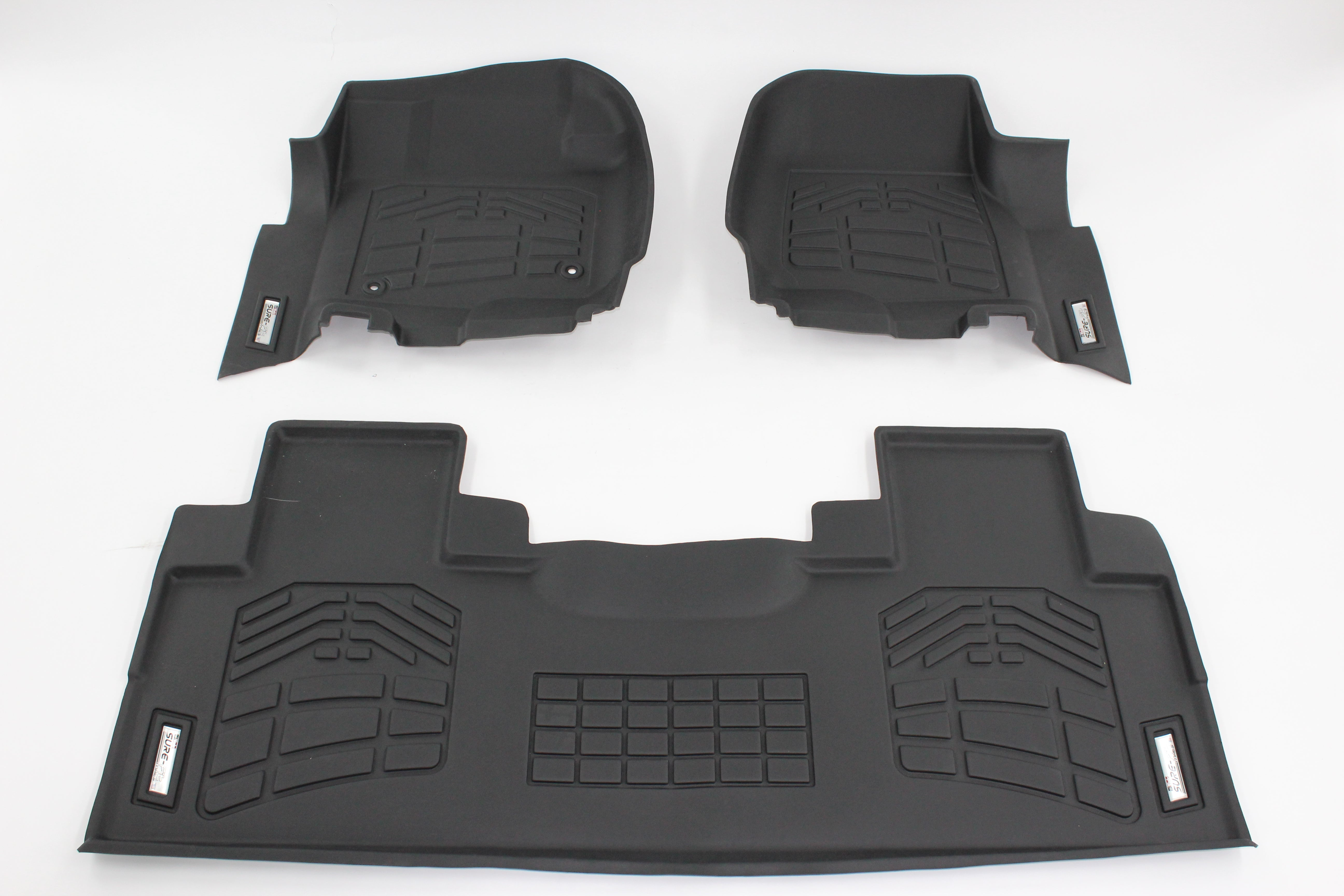 2018 Ford Super Duty Floor Mats | Combo Pack