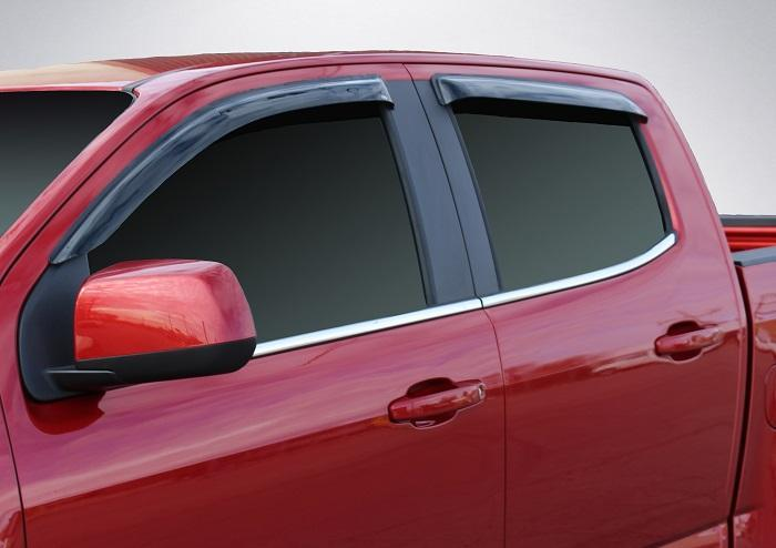 2007 Chevrolet Colorado Slim Wind Deflectors
